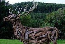 #Driftwood art