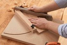 Jigs for woodwork