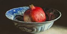 Still Life Painting and tutorials / How to paint still life