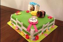 Kids cakes / Vrolijke kindertaarten voor allerlei gelegenheden