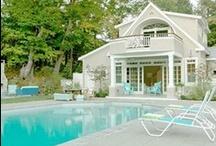 Pretty Poolhouses