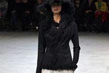 Yohji Yamamoto / Dalle Sfilate, la collezione Autunno/Inverno 2013/14 presto presso Lenastore Bergamo