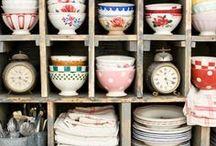 Kitchen stuff, utensils, tableware...
