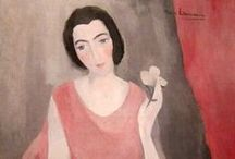 Fine art / Marie Laurencin: French painter and printmaker  (October 31, 1883 – June 8, 1956)