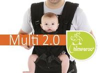 The Chimparoo Multi 2.0 / The new Chimparoo ergonomic baby carrier!