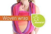 The Chimparoo Woven Wrap / The most comfortable, ergonomic and versatile wear.