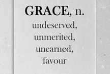 All is grace / by Christy M