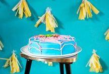 BACKEN: Geburtstagstorte für Kinder / Geburtstagstorte für Kindergeburtstage, backen, Einhorn, Fondant, Schokoladen, Smarties, süß, bunt, fröhlich, Fisch, Grüffelo