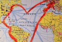 I love maps / <3 #maps #travel #viajar #mapas #mochilera #backpacker #mundi #atlas #decoration #wanderlust