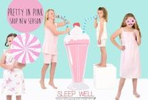CANDY SHOP - SUMMER 2014 / Four in the Bed soft cool and comfy nightwear for kiddies aged 2 to 16. Sleep well at Four in the Bed