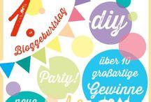 BLOG: Aktionen bei frauscheiner.de / Bloggeburtstag, Bloggeradventskalender oder Interviews. Diese spannenden Artikel findest Du auf meinem Blog.
