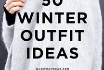 Winter Fashion 2015 / A few bits and pieces that I'd like to purchase for this year's winter season!