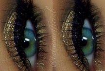 ciglia e o occhi