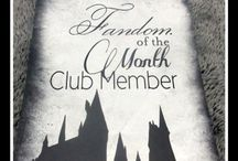 Fandom of the Month Club / Fandom of the Month Club Subscription Box Pictures and Review , Harry Potter , Once Upon a Time, The Hunger Games, Dr. Who, Lord of the Rings,
