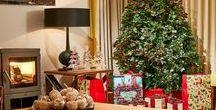 Christmas decoration inspiration! / Great Christmas ideas for decorating your home for the holidays from Mactagagrt & Mickel Homes.