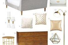 Bedroom*Ložnice / Představa naší nové ložnice nabývá na obrysech :-)