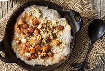 food // breakfast / breakfast foods both savory and sweet