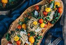 food // pasta / pasta dishes galore