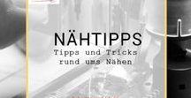 NÄHEN: Nähtipps auf frauscheiner.de / Tipps und Tricks rund ums Nähen, Sticken, Nähhelfer, Kurzwaren, Kordel, Kleber, Ösen, Leder