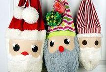 Nähen: Weihnachten / Weihnachten, Diy, Santa, Weinachtsmann, Christkind, Schnee, Tannenbaum, Weihnachtsbaum, Nähen, Basteln, Schokolade,  Manderinen, Nikolaus