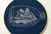 INSPIRATION: Sticken - embroidery / Handsticken ist eine schöne und meditative Form des Handarbeitens.