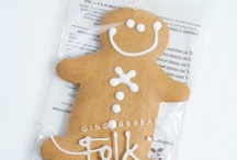 Gingerbread Folk products / A selection of Gingerbread Folk's all natural, egg-free cookies of the finest quality, thoughtfully presented in environmentally friendly packaging.
