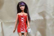 Mes Barbies / Vêtements de Barbie grâce à des tutos trouvé sur le net