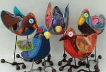 Petits et gros oiseaux / Hiboux, oiseaux / Owls, birds