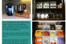 Kitchen Tips & Tricks / Quick and easy ways to improve your kitchen organization.