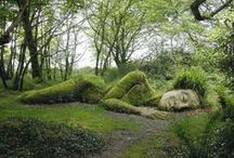 Gaia / (or Gaea) AKA Mother Earth, and all her nature-y glory