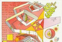 CEBRA toons / Watercolor drawings by Mikkel Frost