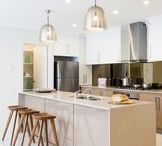 Kitchens / Design, decorating and colour trend ideas for the hub of any home, the kitchen!!
