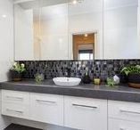 Bathrooms / Design, decorating and colour trend ideas for your bathroom!