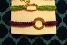 Bijoux au crochet / Crochet jewellery / Faites-vous même vos bijoux au crochet