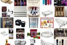 Holiday Gift Guide / Holiday gift ideas for the person who loves to cook, entertain, enjoys home decor, foods and beverages.