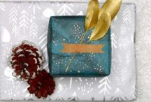 Gift Wrapping / Holiday gift wrapping inspiration