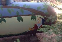 Ideas to Paint That Propane Tank