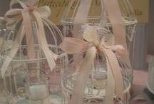 shabby chic bomboniere / proposte bomboniere alla fiera Sposi di Gorizia