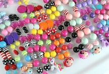 Bubblegum Beads LOVE ♥ / We all have a common love for bubblegum beads, creating and making gorgeous jewellery and accessories with them!  Join our group board and pin all your faves bubblegum bead pieces!!