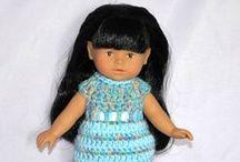 Mes Mini Corolline, Paola Reina et autres poupées / Découvrez les vêtements que je réalise pour mes poupées grâce à des tutos trouvés sur le net