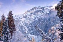 Winter / Zimowe widoki ze stoków narciarskich