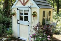 Sheds & Greenhouses / Sheds, greenhouses, outdoor storage / by A Cultivated Nest