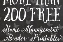 Printables / All Kinds Of Printables! Most are free. Graphic transfers too.  Budgeting printable, home decor printables, homemaking printables, pantry printables, laundry printables, organizing printables, cleaning printables