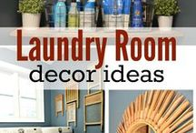 Laundry Rooms / DIY, crafts for the laundry room. Laundry room decor ideas. / by A Cultivated Nest