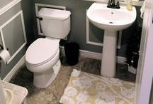 Small Bathrooms / Small Bathroom Storage, Styling and Remodeling Ideas / by A Cultivated Nest