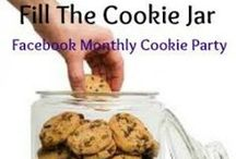 Fill The Cookie Jar / Cookie recipes for all seasons. Christmas, Fall, Summer, homemade cookies