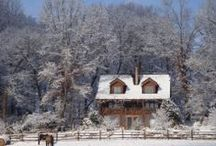 Winter at Storybrook Farm / Storybrook Farm can be a lovely place to stay, especially when it snows. Come take a walk around the farm in the snow through the lens of our camera over the last couple of winters.