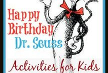 Dr Seuss Birthday - March 2