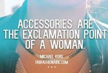 Quotes Fashion Accessories et al / Quotes that describe us, our style, our sense of fashion  Like/Pin if you agree