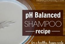 DIY Hair Care Products / Hair balms, waxes, shampoos, conditioners, rinses, etc